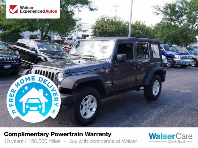 Pre-Owned 2017 Jeep Wrangler Unlimited Sport