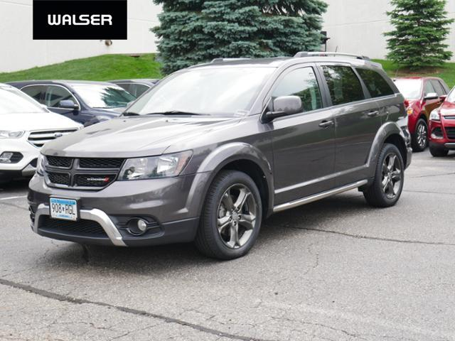 2014 Dodge Journey Tire Size >> Pre Owned 2014 Dodge Journey Crossroad Awd